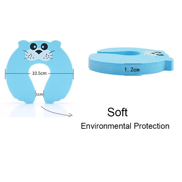 Child Safety Protection Baby Safety Cute Animal Security Card Door Stopper Baby Newborn Care Child Lock Protection SF009
