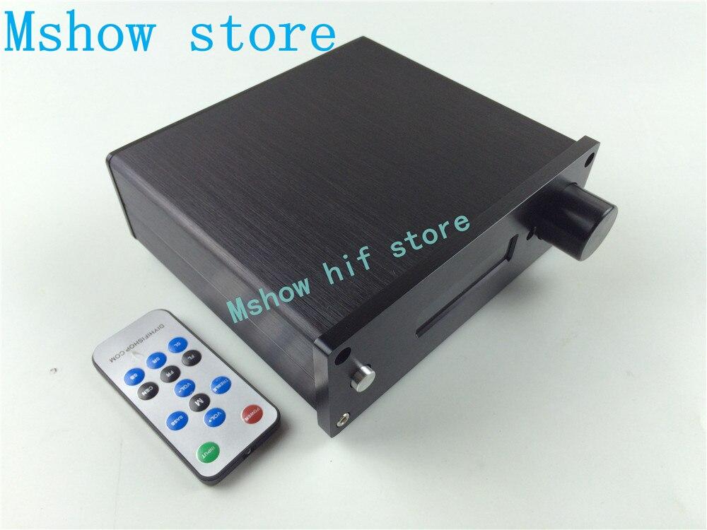 Mshow hifi audio nouvelle version PGA2311 DIP8 puce préampli Stero télécommande contrôleur de Volume préamplificateur 3 voies entrée meilleur prix