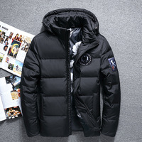 2018 Top Quality Warm Men's Warm Winter Jacket Windproof Casual Outerwear Thick Medium Long Coat Men Parka 16M899D