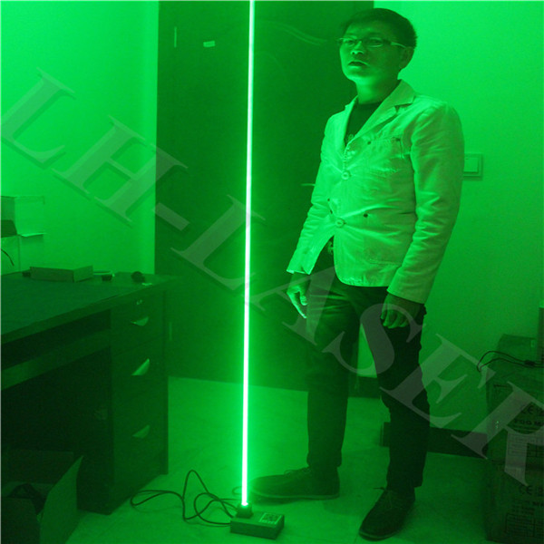 Custom 532 Nm 100 Mw Thick Beam Laser Base Laser Foot Double Laser Sword Laser People Show