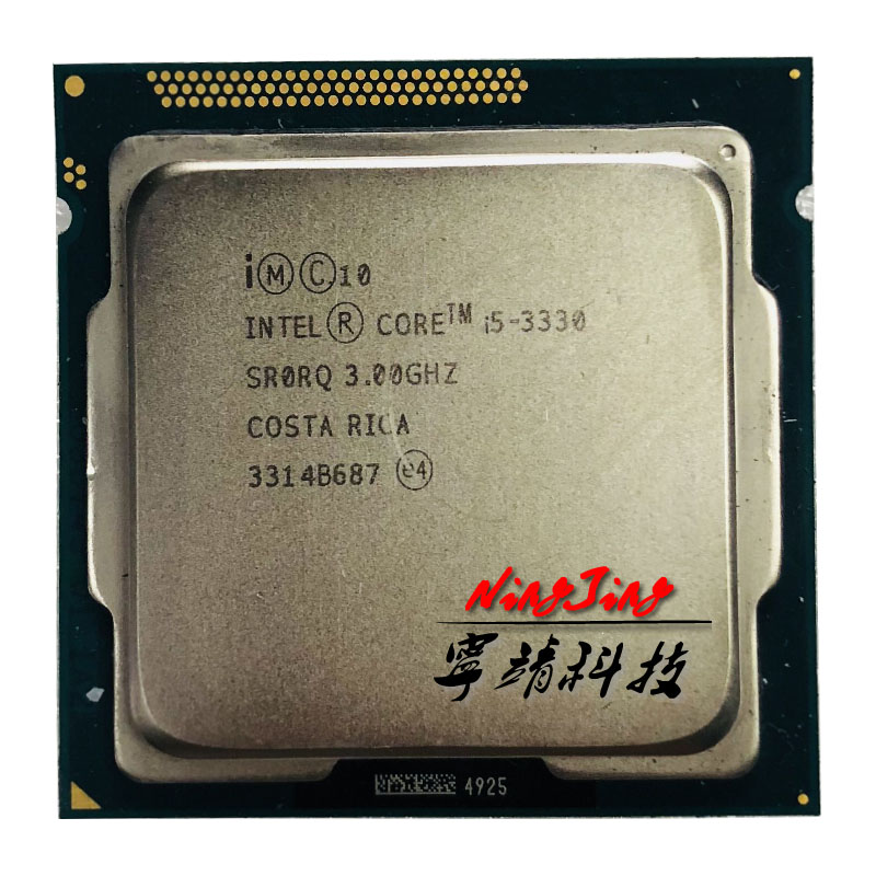 Intel Core i5 3330 i5 3330 3 0 GHz Quad Core CPU Processor 6M 77W LGA