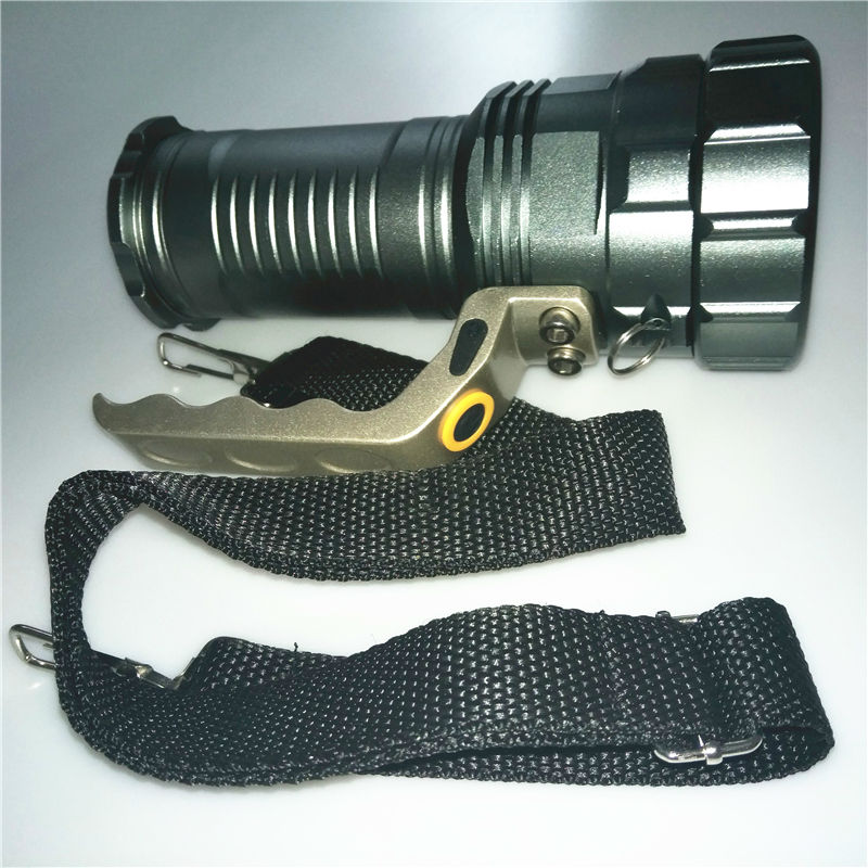 Rechargeable 4000LM Zoom XM-L L2 LED Flashlight Torch Light Zoomable 3Modes Waterproof lampe Torch Flash Lights For 3x18650 ...
