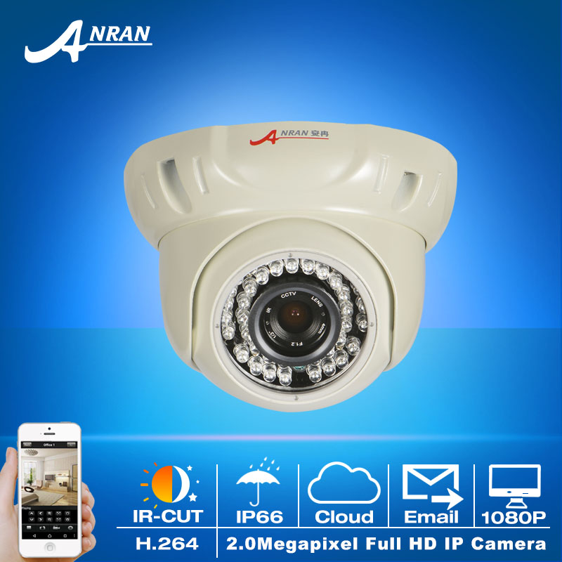 ФОТО Onvif 1080P HD Sony Sensor 25fps H.264 Video Network IP Camera&Outdoor Waterproof Fixed Dome Security Camera Email alarm
