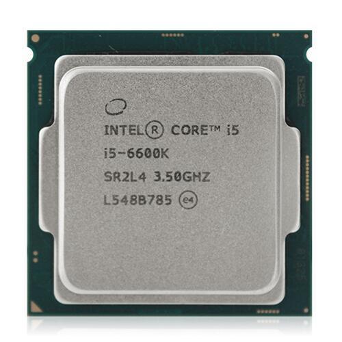 Новый оригинальный Intel Core i5 6600 К 6-generation 4-ядерный 4-ниточного разгон ПРОЦЕССОРА 3.5 ГГц LGA1151 штук
