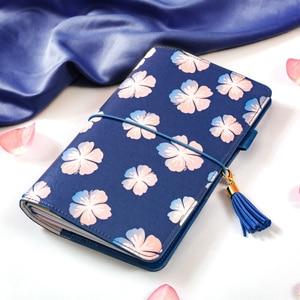 Image 4 - כיסוי עור מחברת ספירלת Lovedoki להיות יפים כמו פרחי הקיץ קוריאני כתיבה מחברת רטרו A5 יומן מתכנן שבועי