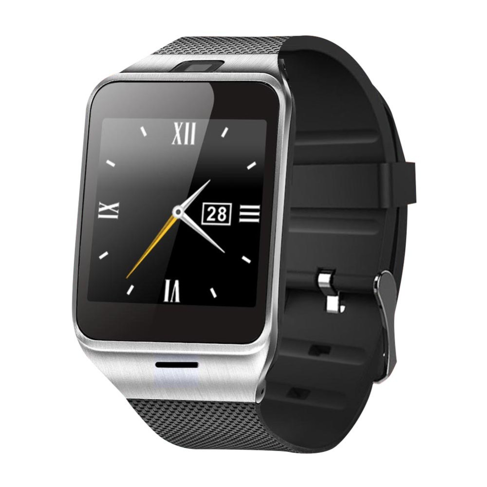 Bluetooth font b Smart b font Watch GV18 For Apple iphone IOS Android Phone Wrist Wear