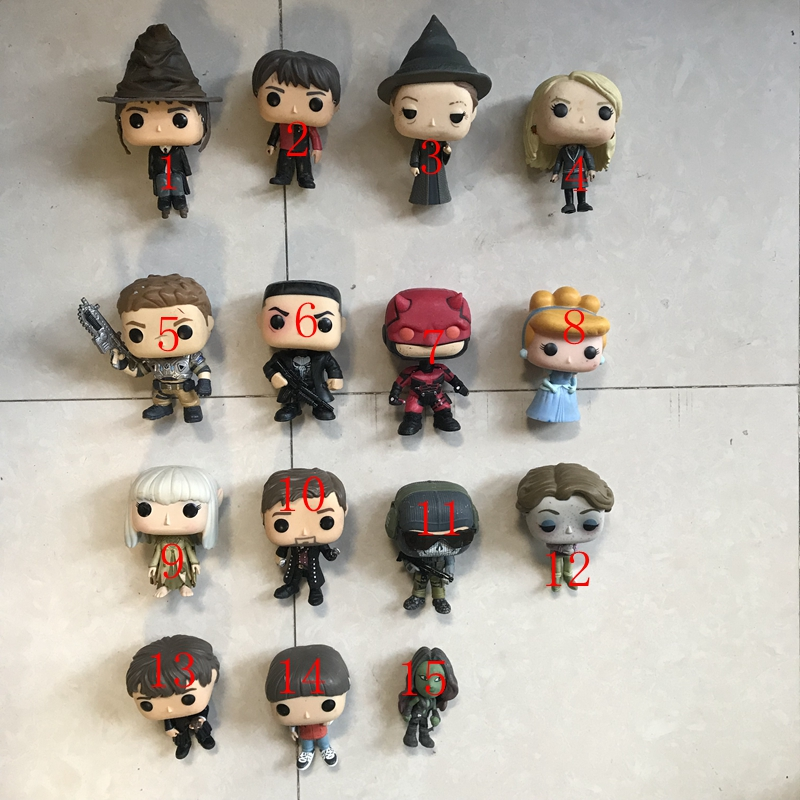 Imperfect Funko Pop Harry Potter, Mcgonagall,stranger Things, Alice, Luna, Daredevil Vinyl Action Figures Collectible Model Toy #2