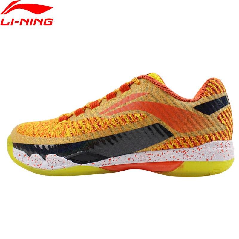 Li Ning Men s PIONEER Professional Badminton Shoes LN BOUNSE Cushion LiNing Wearable Sports Shoes Sneakers