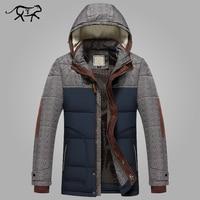 Brand Winter Jacket Men Big Size M 5XL New Arrival Casual Slim Cotton Thick Mens Coat