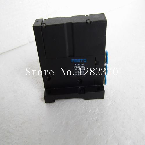 [SA] Genuine original special sales FESTO connector CPA10-V1 spot 173520 --2pcs/lot веб камера logitech hd webcam c310