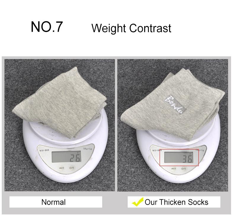 Bendu Brand Men Winter Warm Thermal Socks Man Cotton Sock Brethable Anti-Bacterial Deodorant Brand Guarantee High Quality