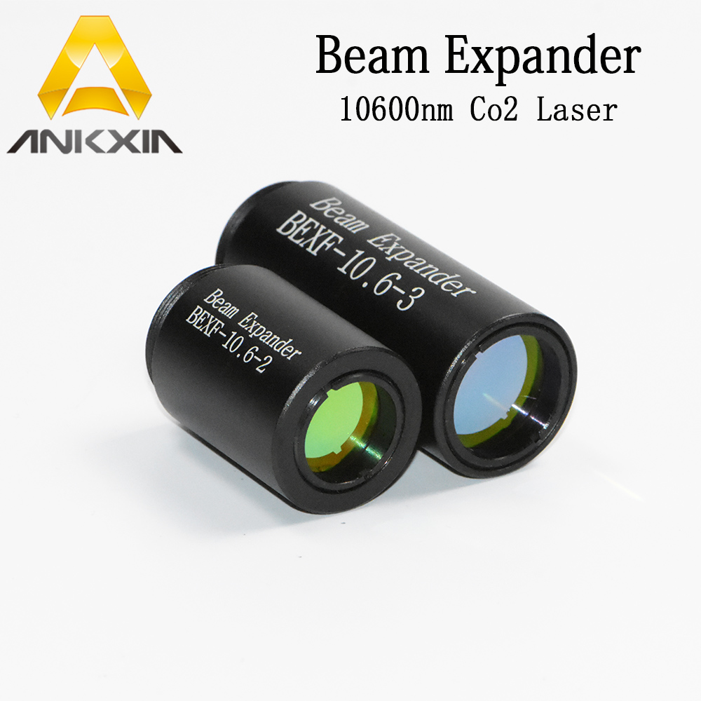 CO2 laser 10600nm 10 6 m Laser Beam Expander Expand 1 5X 2X 2 5X 3X