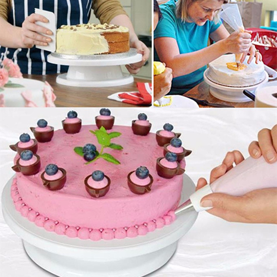 ?27.5cm Kitchen Cake Decorating Icing ? Rotating Rotating ...