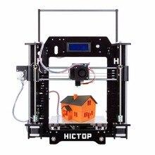 HICTOP Filament Monitor Desktop 3D Printer Kits Reprap Prusa I3 MK8 DIY Self-assembly Printing size 10.6″ x 8.3″ x 7.0″