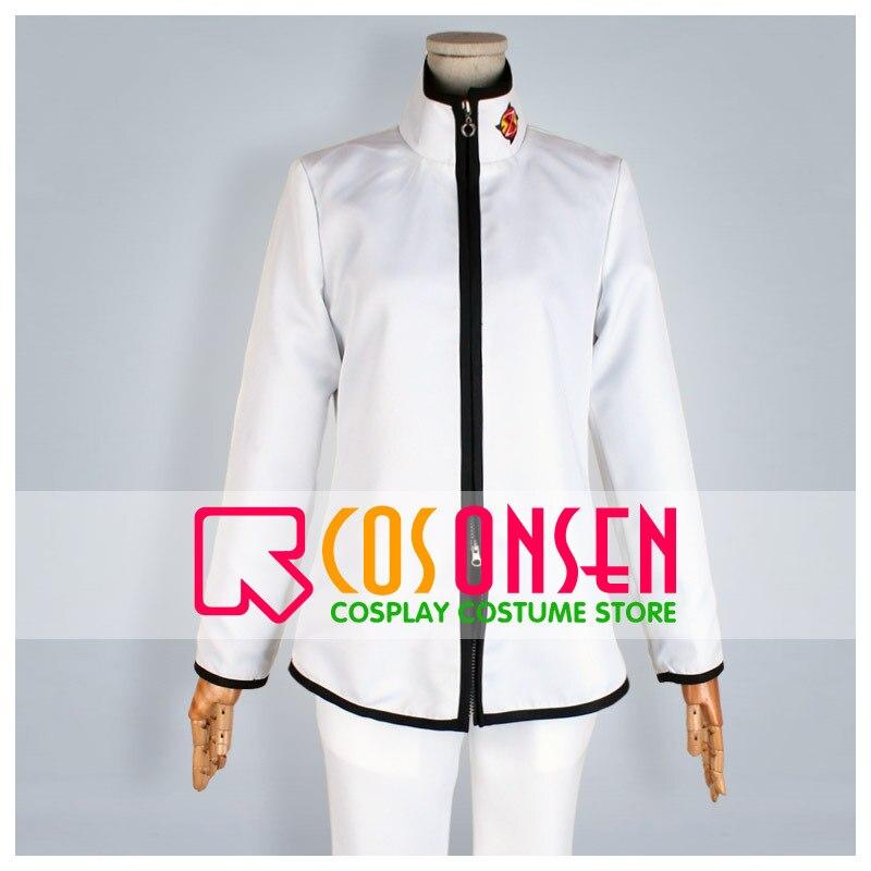 COSPLAYONSEN Free! Samezuka Academy White Uniform Rin Matsuoka Cosplay Costume Full Set