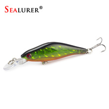 SEALURER 5Pcs/Lot Fishing Lures 8cm/6g 5Colors Crankbaits Swimbaits Jerkbaits  Fishing for Bass Sinking Minnow