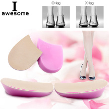 купить 1Pair Unisex Shoe Insole Men Women Corrective O/X Type Leg Correction Orthotic Splayfoot Corrector Shoe Pads Heel Insert Insoles по цене 97.7 рублей