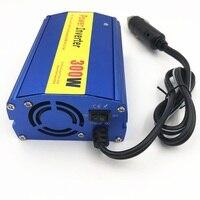Usb 홈 자동차 전원 인버터 변환기 dc 12 v 300 v 자동차 배터리 충전기 어댑터 자동차 전원 공급 장치와 110 w