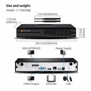 Image 2 - Jennov 1080P كاميرا مراقبة للمنزل نظام NVR واي فاي اللاسلكية 8Ch 2MP كاميرا فيديو كاميرا مراقبة بالدوائر التليفزيونية المغلقة عدة IP66 في الهواء الطلق P2P