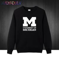 2018 New Michigan University American College Baseball S Jersey Clothing Men Sweatshirts Hoodies Man Pullover