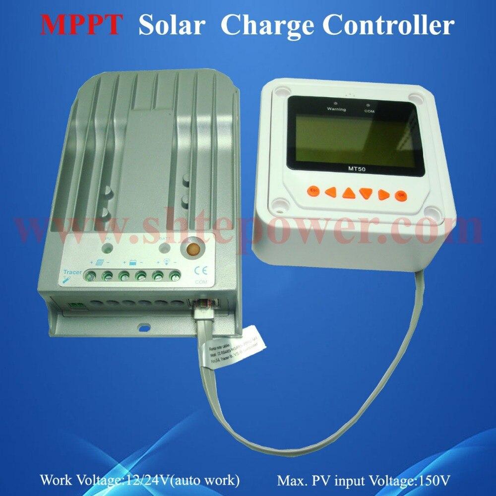 купить tracer 20a mppt pv solar controller 12v/24v rohs solar regulator недорого