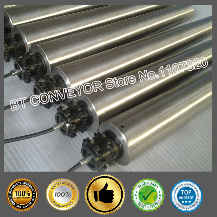 Factory sale electric roller, driving pulley,  dia. 50, 57, 60, 76, 80, 100, 113, 127, 138, 165, power from 0.015~1.1 Kw. m75 750kgs pulley 304 stainless steel roller crown block lifting pulley factory direct sales all kinds of driving pulley