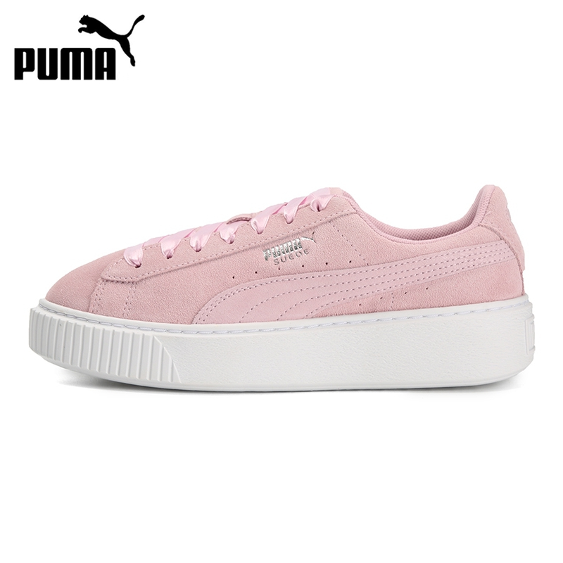 Original New Arrival 2019 PUMA Platform Galaxy Wn's Women's  Skateboarding Shoes Sneakers