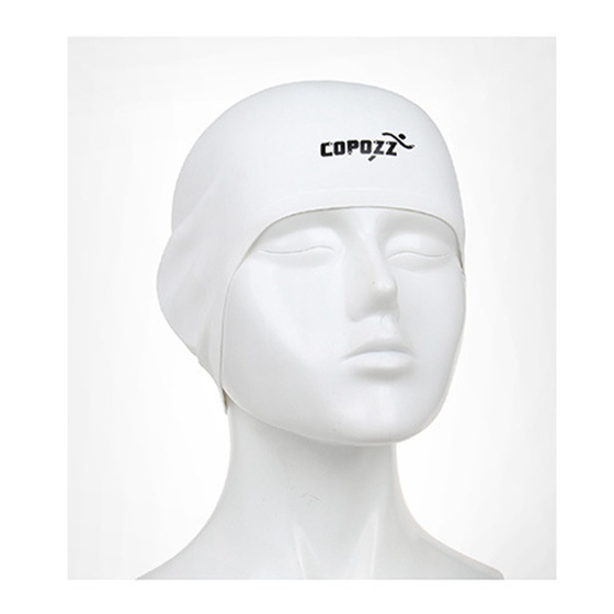 Super sell-COPOZZ Swimming Hat Sexy Women Girls Long Hair Swim Cap Stretch Hat Drape Bathing Cap
