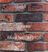 Free Shipping Anti Brick Pattern Brick Wall Wallpaper Pattern Wallpaper Simulation Brick Wallpaper Looks To Be