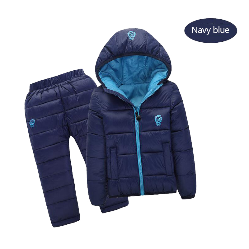Winter Children Clothing Outwear Girls Boys Coat Faux Fur Hooded Christmas Costume Kids Down Jacket children's winter jackets купить