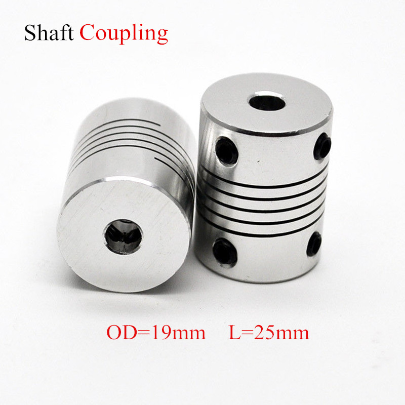 Rigid Coupling 5mm to 5mm 5x5mm Solid Coupler ideal for 3D printer Reprap CNC