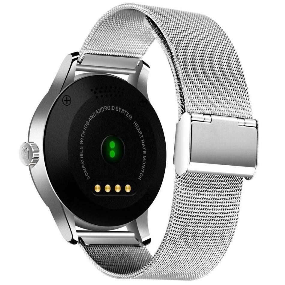 D'origine K88H Montre Smart Watch Piste Montre-Bracelet MTK2502 Bluetooth Smartwatch Moniteur de Fréquence Cardiaque Podomètre Numérotation Pour Android IOS - 2