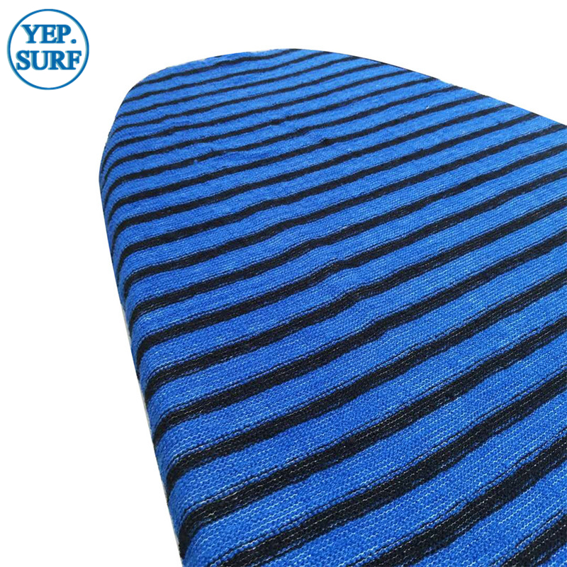 Surfboard Socks Cover 8ft Blue color Quick-dry Surfboard Sock Surfing protective bag