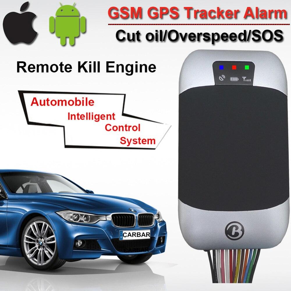 Traqueur d'alarme GPS GSM pour véhicule de voiture GPS303F pour les enregistrements d'histoire en temps réel de l'utilisateur de cortège prend en charge l'alarme de survitesse ouverte de porte d'acc