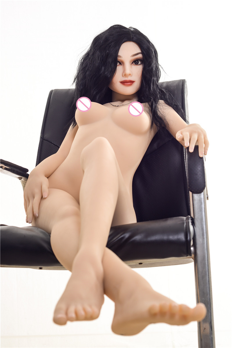Image 5 - 155cm #Hellen new  TPE with Metal skeleton sex dolls real masturbator vajina love dolls male sex dolls for women Lifelike vaginaSex Dolls   -