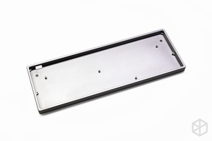 Image 5 - Capa plana de alumínio anodizado com pés de metal, para teclado mecânico personalizado, preto, tamanho cinza, colorida para gh60 xd60 xd64 satan