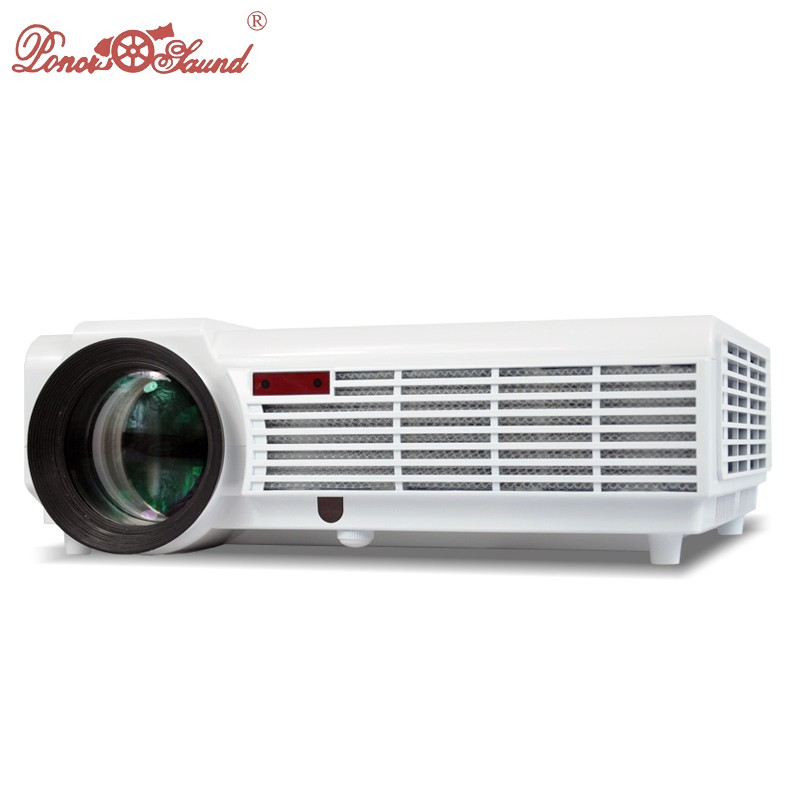 Poner Saund Full Hd New Mini Projector Proyector Led Lcd: Poner Saund 5500 Lumens Projector High Brightness Digital