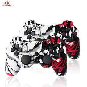 K ISHAKO контроллер для ps3 ПК, беспроводной игровой контроллер SIXAXIS, геймпад для sony playstation3, двойной ударный геймпад, джойстик