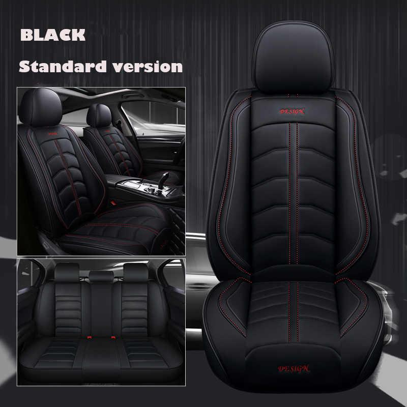 Кожаный автомобильное сиденье из искусственной кожи чехлы для авто Toyota RAV4 PRADO Highlander Corolla Camry Prius Reiz CROWN yaris автомобильные аксессуары для укладки волос