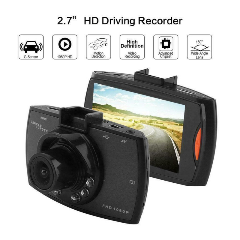 Driving-Recorder Memory-Card Car-Dvr-Camera Full-Hd With 1080P 32G High-Quality