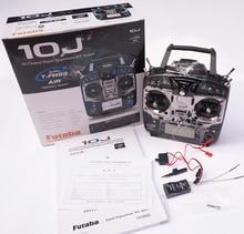 Original Futaba T10J 10J mit R3008SB Erhalten 10 Kanal 2,4 GHz Radio System für RC Hubschrauber Multicopter