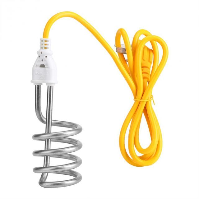 Portable Electric Immersion Heater Boiler Spiral Water Heating Element 1500w 220v