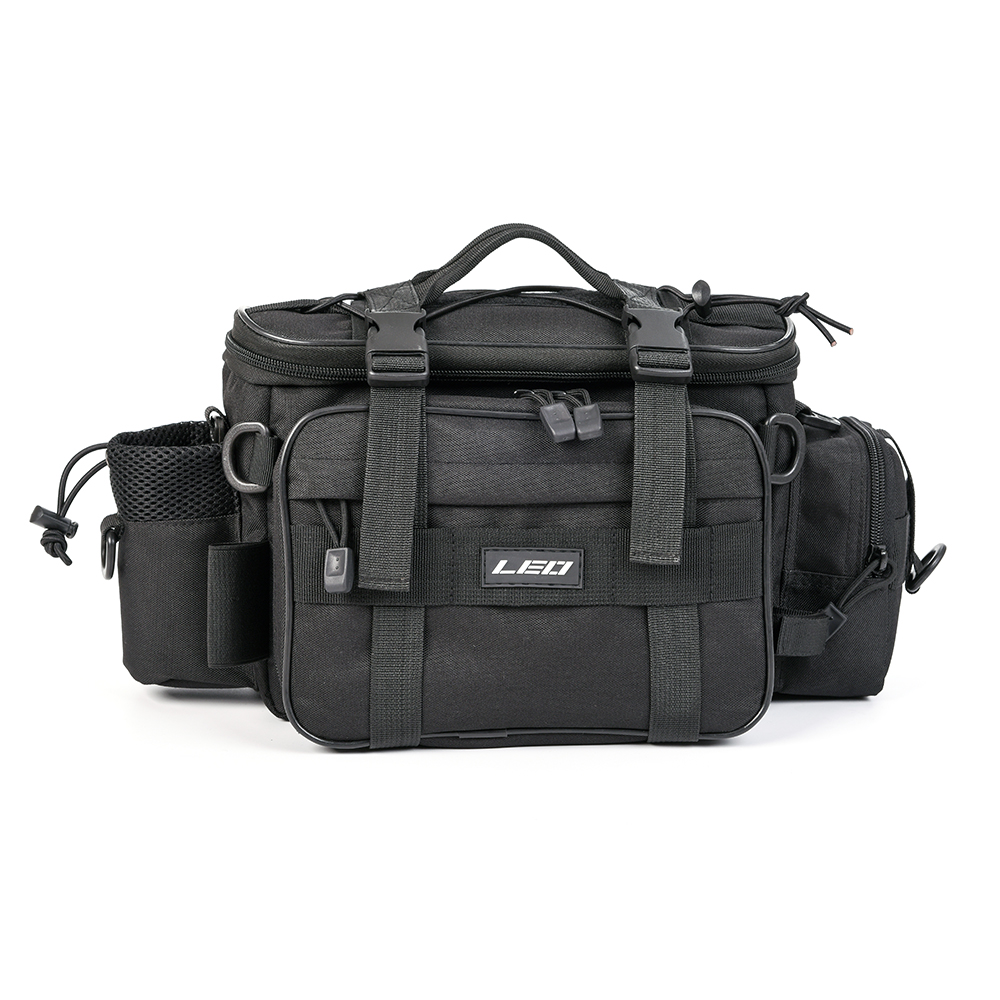 Multifunctional Fishing Tackle Bag Outdoor Sports Single Shoulder Bag Crossbody Bag Waist Pack Tackle Utility Storage Bag