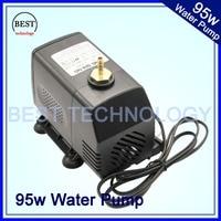 pump 95w 220V water pump max head 4m, max flow 4000L/H Multi function submersible pump!