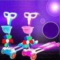 Четверо детей лягушка скутер мигающий колеса качели автомобиль скейтборд shilly автомобиль ножничные мультфильм игрушки уокер