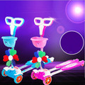 Four children frog scooter flashing wheel swing car skateboard the shilly car scissor car cartoon toys walker