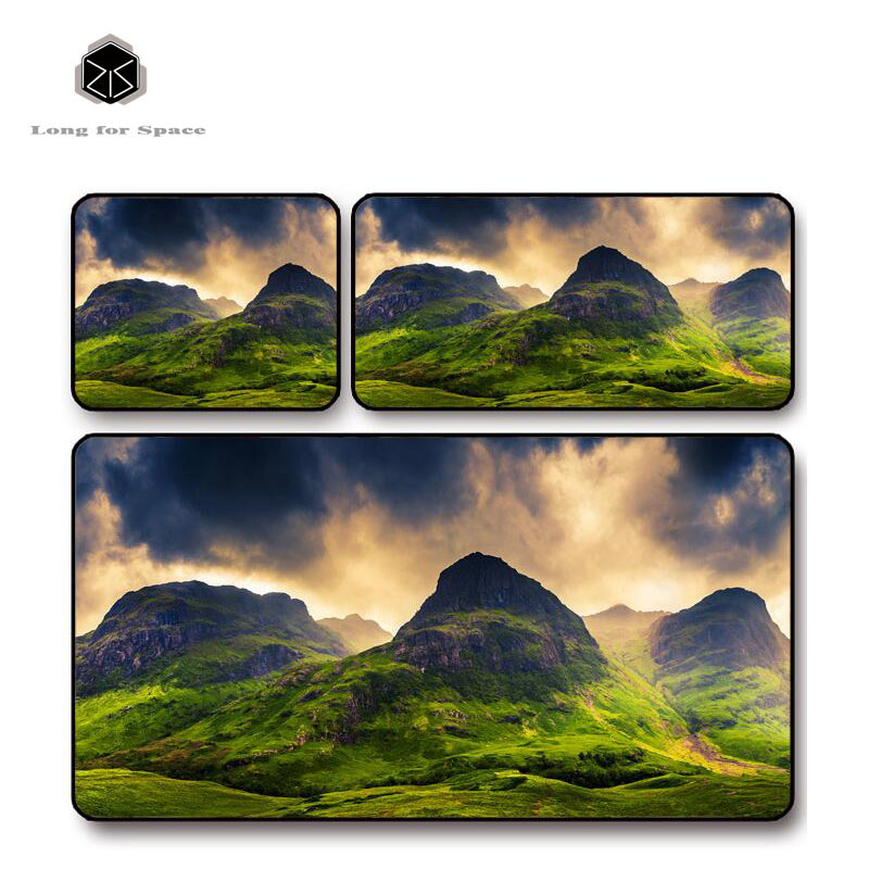 SJLUHS Mountains Large Gaming Mouse Pad High Quality Expansion Mousepad Profession Free Shipping
