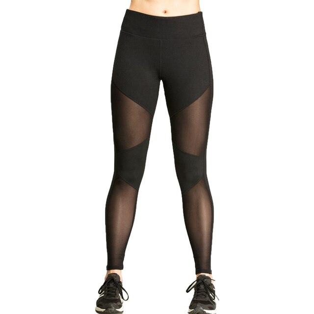 High Quality Women Femme Fitness Leggings Elastic Super Stretch Bodybuilding Leggings Workout pants Fitness Trousers leggins