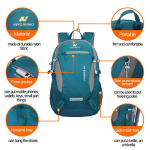 Image 5 - 30L NEVO RHINO Waterproof Mens Backpack Unisex travel pack bag hiking Outdoor Mountaineering Climbing Camping backpack for male