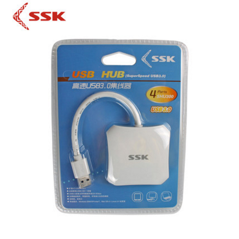 Ssk shu300 usb3.0 hub con cuatro puertos de línea divisor de - Periféricos de la computadora - foto 6